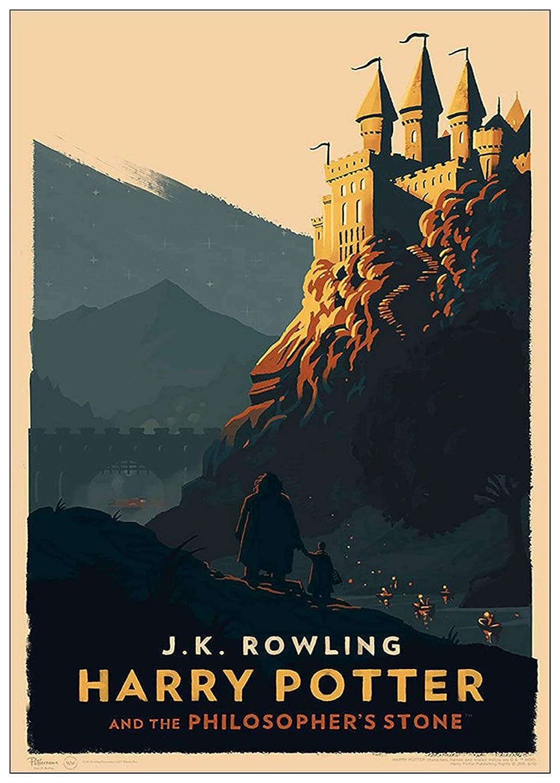 30//40 A0 Canvas Black Creations Harry Potter 40 Film Poster Canvas Picture Art Print Premium Quality A0 A1 A2 A3 A4