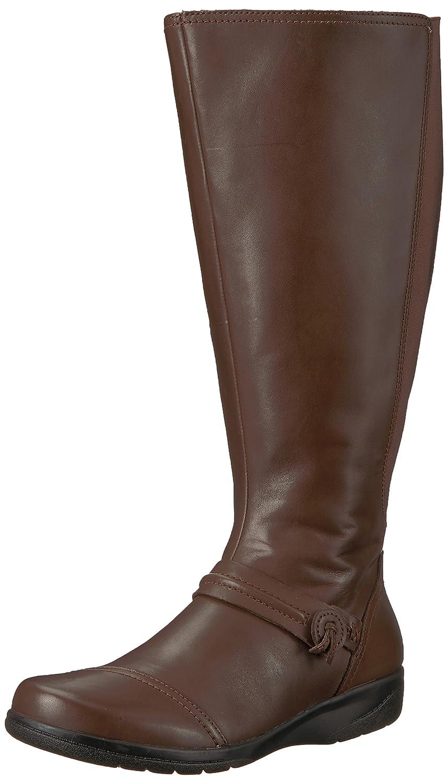 Clarks - Frauen Cheyn Schneebesen W High Stiefel, 37 EUR, Dark braun
