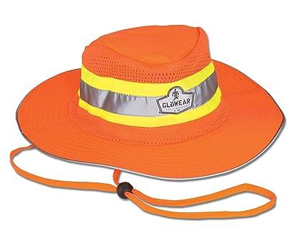 d55e34b0c Ergodyne GloWear 8935 High Visibility Ranger Hat, Large/X-Large, Orange