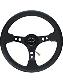 NRG Innovations RST-006BK Reinforced Steering Wheel