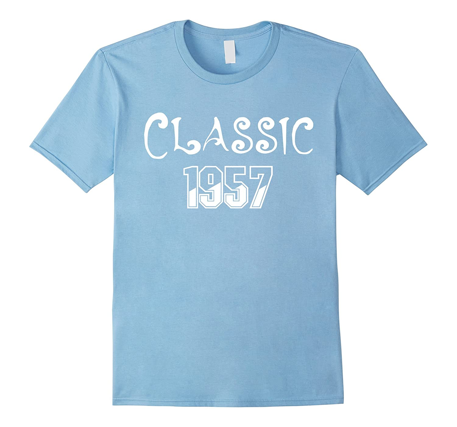 Classic 1957 T Shirt 60th Birthday Gifts For Him CD