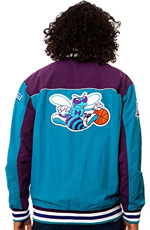 Mitchell & Ness Charlotte Hornets NBA Authentic 96-97 Warmup ...