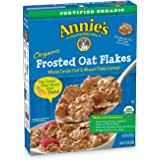 Annie's Organic Cereal, Frosted Oat Flakes, Whole Grain Cereal, 10.8 oz