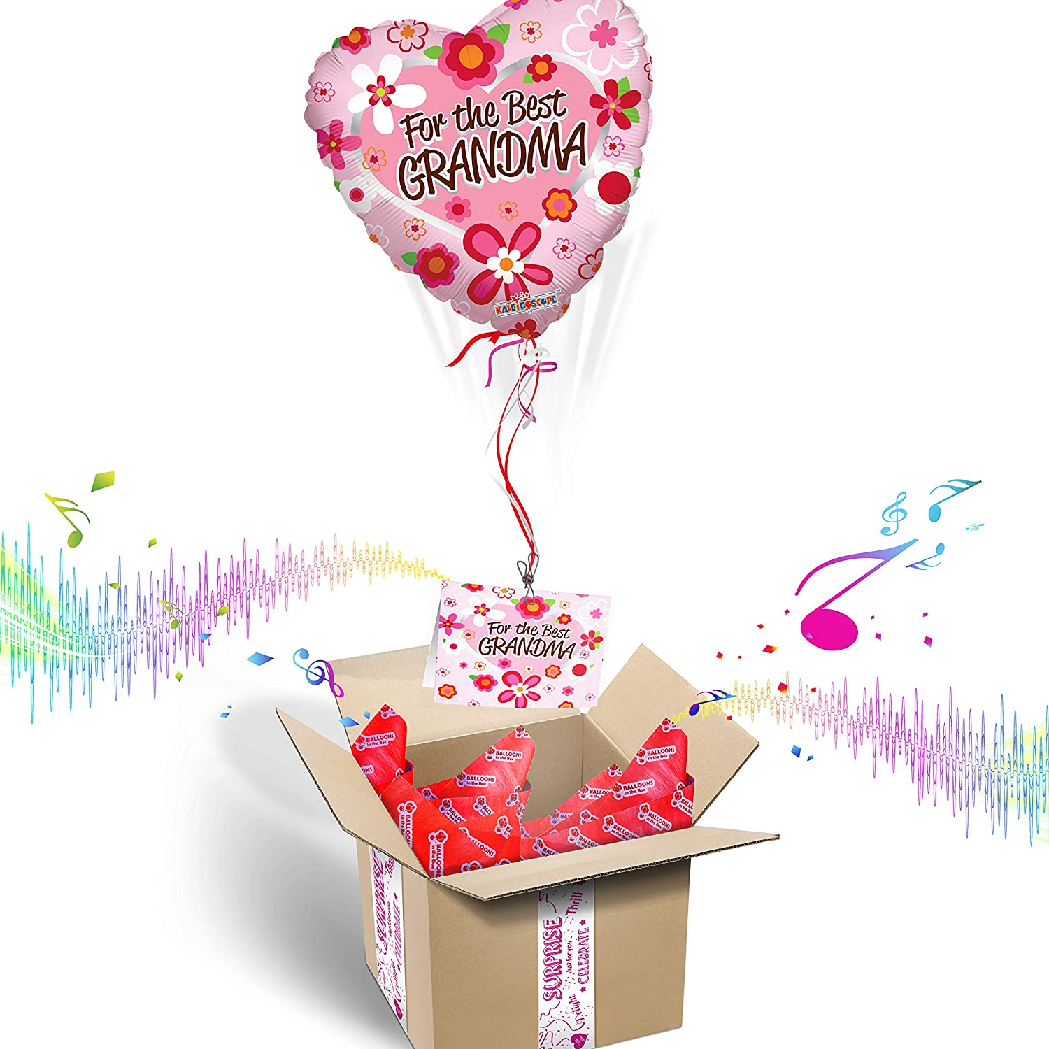 For The Best Grandma Balloons In The Box Grandparent