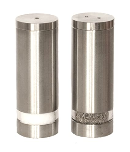 Amazoncom Stainless Salt And Pepper Shakers Salt And Pepper Pepper