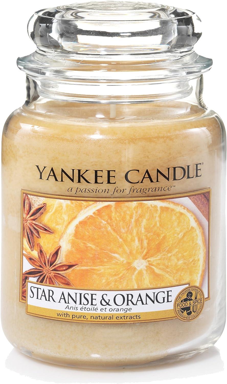411g Yankee Candle Duftkerze Housewarmer Star Anis /& Orange