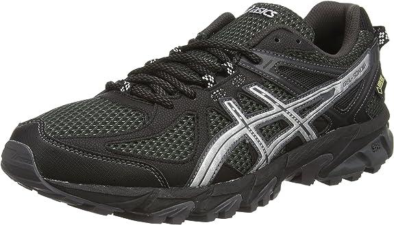 ASICS Gel-Sonoma G-TX - Zapatillas de Trail Running para Hombre, Color Negro (Black/Silver/Dark Grey 9093), Talla 40.5: Asics: Amazon.es: Zapatos y complementos