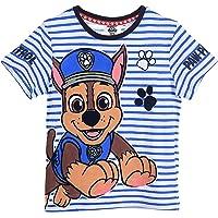 Nickelodeon Pat Patrol - Camiseta de manga corta para niño, color azul