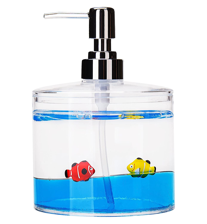 Amazon.com: Yeti Decor 4 Piece Acrylic Liquid 3D Floating Motion ...