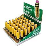 Dixon Pencil Shaped Eraser, Display Box (38936)