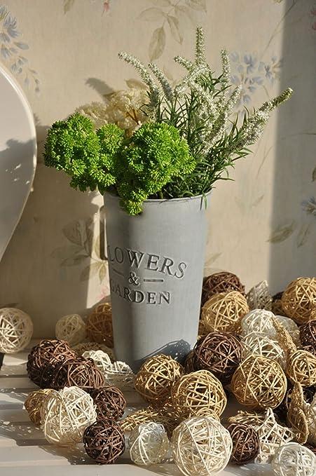 Merveilleux Biowow 12Pcs Handmade Wicker Rattan Balls Decorative Spheres Vase Filler  Ornament Decoration ,Wedding Christmas Party