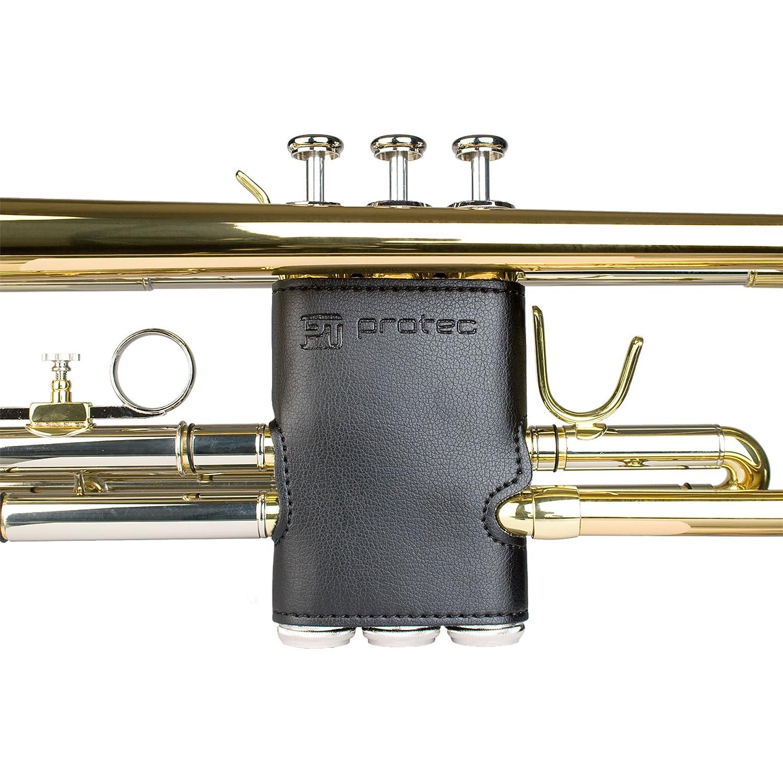 amazon com protec trumpet leather valve guard model l226
