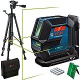 Bosch Professional Kombilaser GLL 2-15 G (grön laser, interiör, LB 10-fäste, synligt arbetsområde: upp till 15 m, stativ…