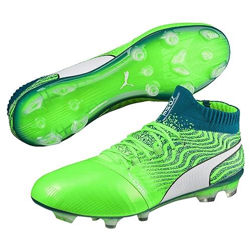 09f936fdcb45 Puma Men's One 18.1 Ag Football Boots, Green Hellgr\U00fcn/Gr\U00fcn