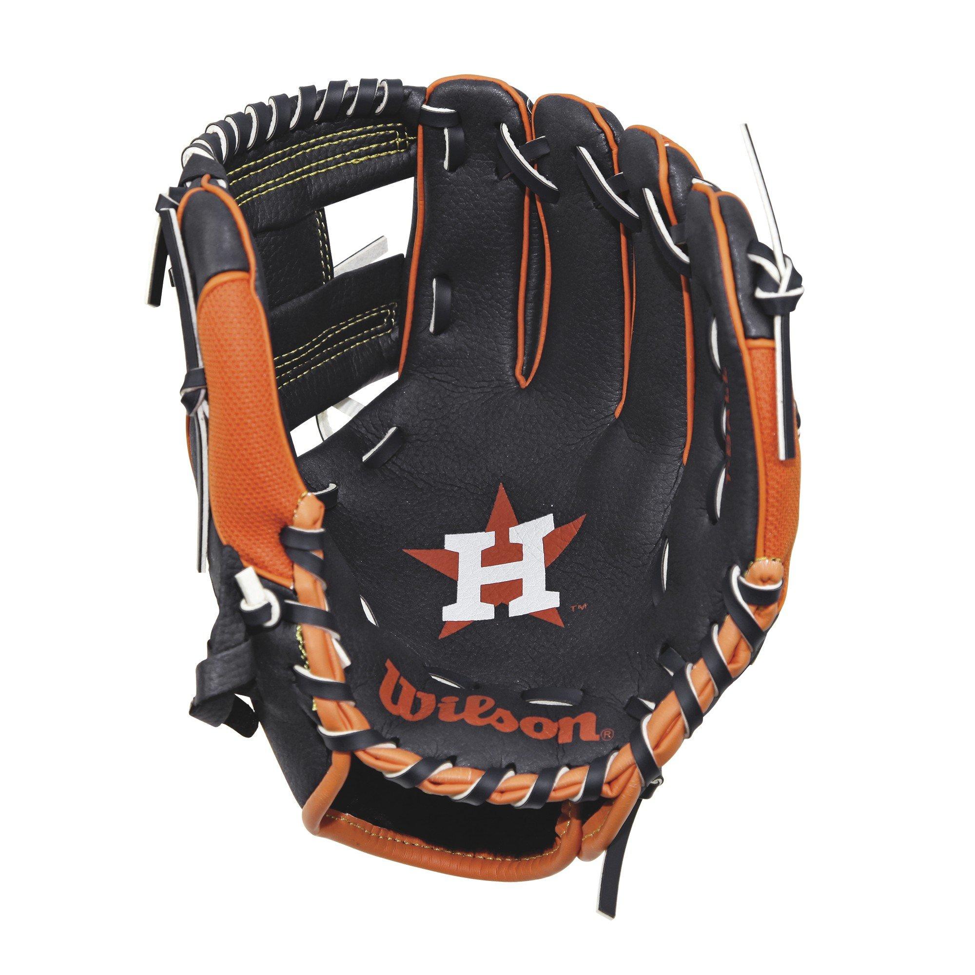 Wilson A0200 Detroit Tigers Baseball Gloves, 10''