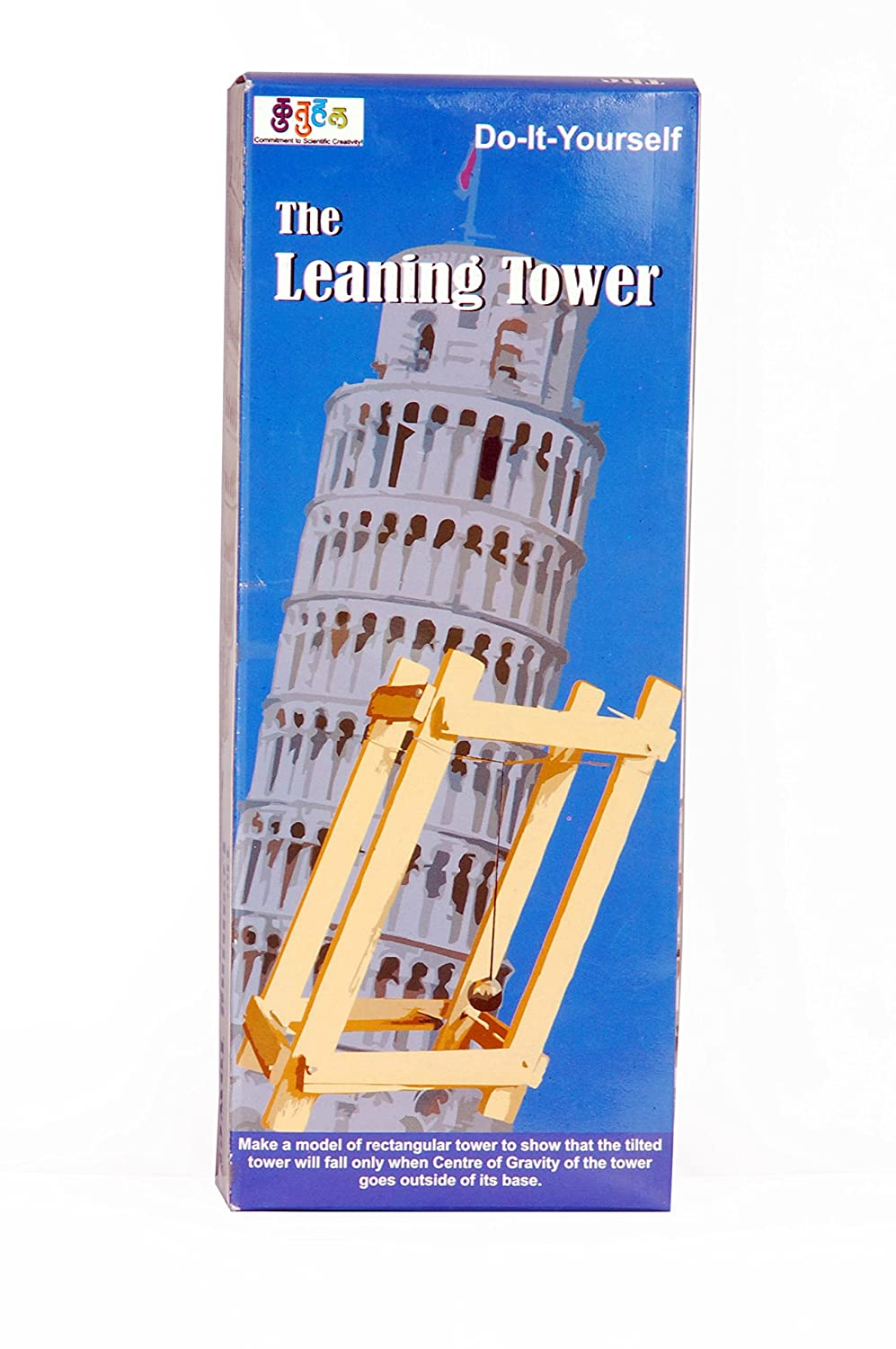 Buy safal leaning tower center of mass demonstration project do do it yourself working model educational learning toy physics science activity kit online at low prices in india amazon solutioingenieria Choice Image