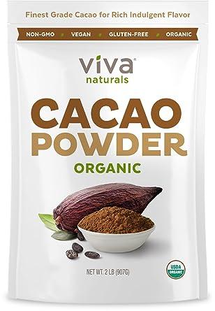 Viva Naturals Cacao orgánico...: Amazon.com: Grocery ...