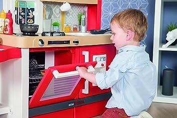 Smoby- Cocina juguete evolutiva, Color rojo (312301) , color/modelo surtido: Amazon.es: Juguetes y juegos