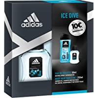 Adidas Ice Dive Set Hombre Duplo Edt 50 + Gel 250