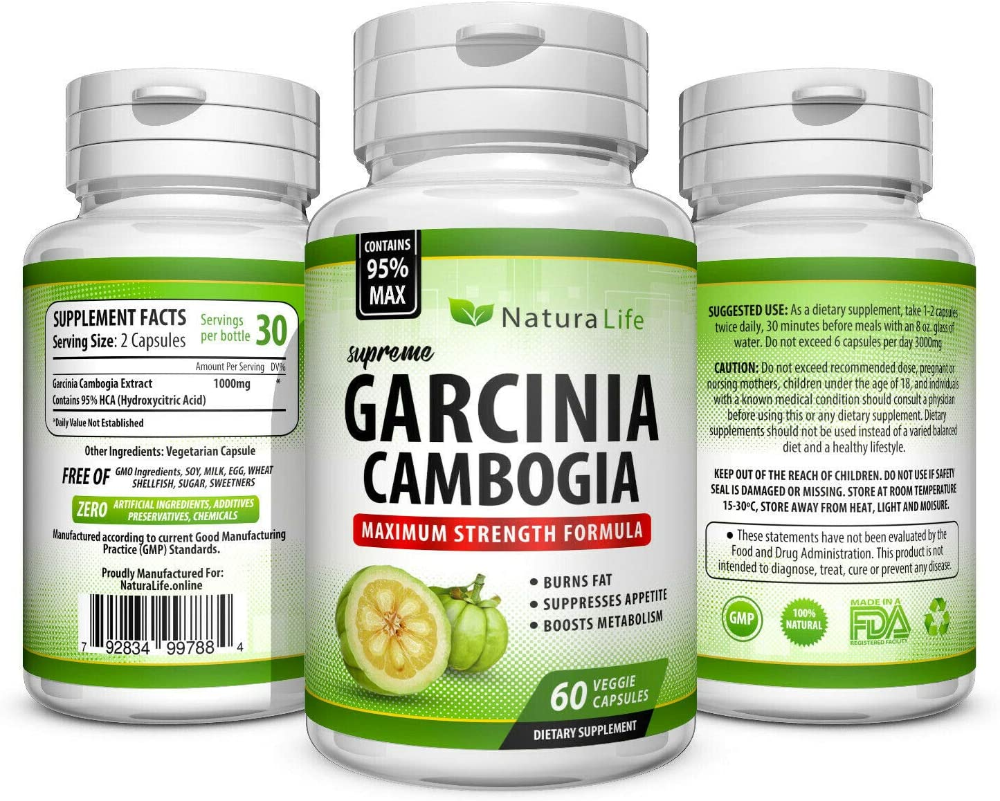 Amazon Com Garcinia Cambogia Maximum Strength Extract Extreme