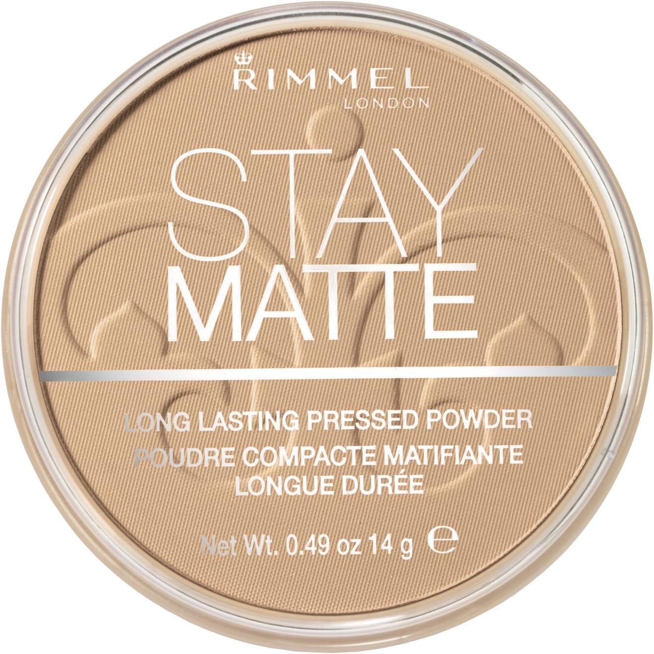 Rimmel London Stay Matte Base de Maquillaje Tono 6 Warm Beige, 14 gr