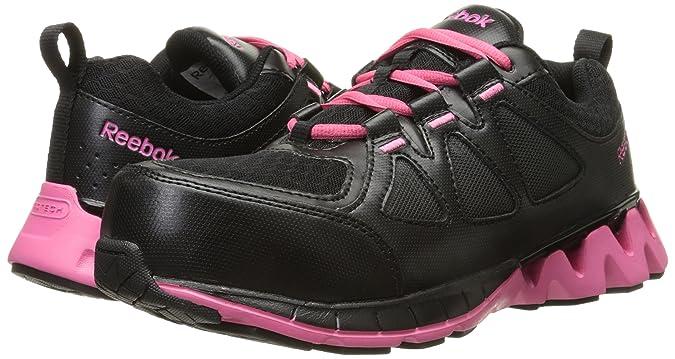 Amazon.com: Reebok Work Womens Zigkick RB330 EH Athletic Safety Shoe: Shoes