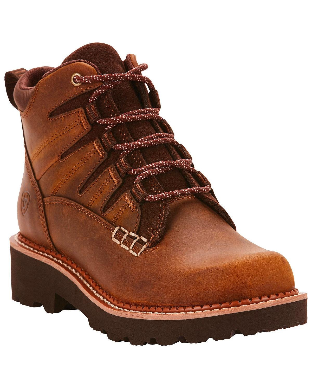 Ariat Women's Canyon II Hiking Shoe, Distressed Brown, 8 B US