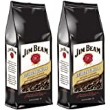 Jim Beam Bourbon Vanilla Bourbon Flavored Ground Coffee, 2 bags (12 oz ea.)