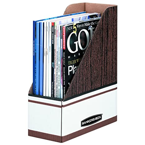 Amazon Bankers Box 400 Corrugated Cardboard Magazine File 40 Delectable Bankers Box Magazine Holders