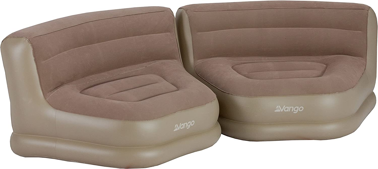 Nutmeg One Size Vango Inflatable Relaxer Chair Set