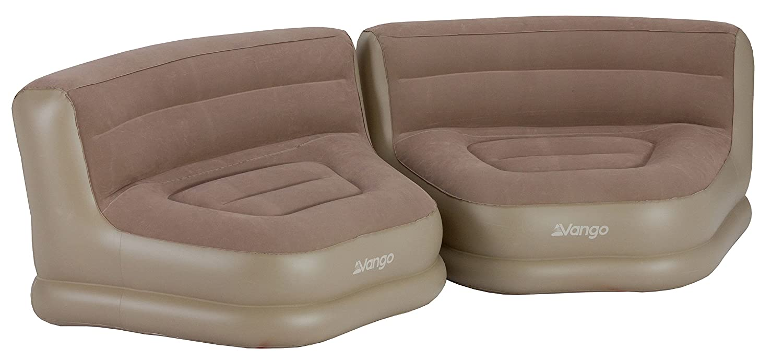 Vango Unisex aufblasbar Relaxer Stuhl Set, Muskat, STD