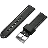 Fossil 20mm Leather Watch Band