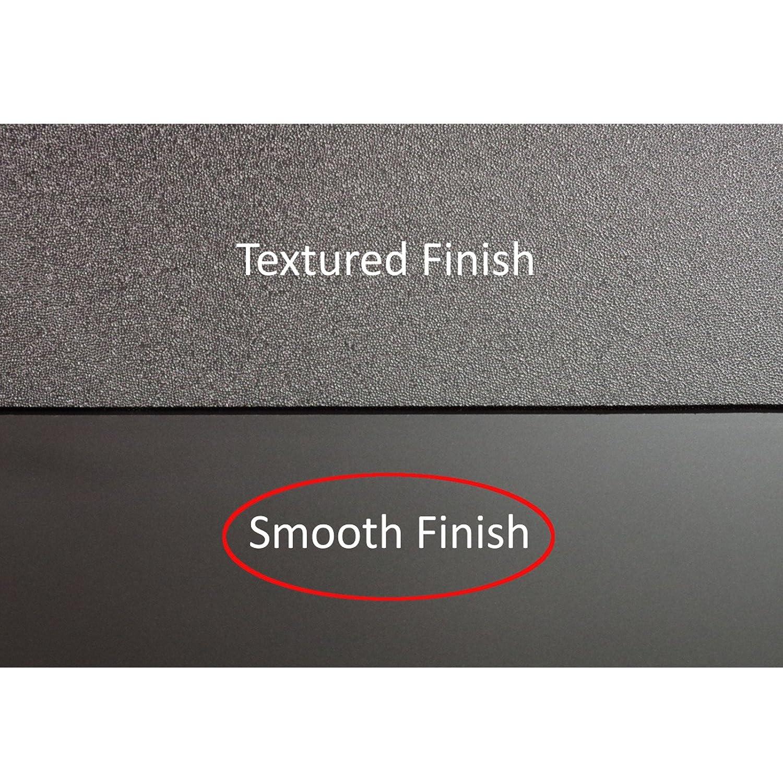 FormFit Smooth Black Tough Guard Hood Protector Bug Shield Deflector Fits 2009-2018 Ram 1500