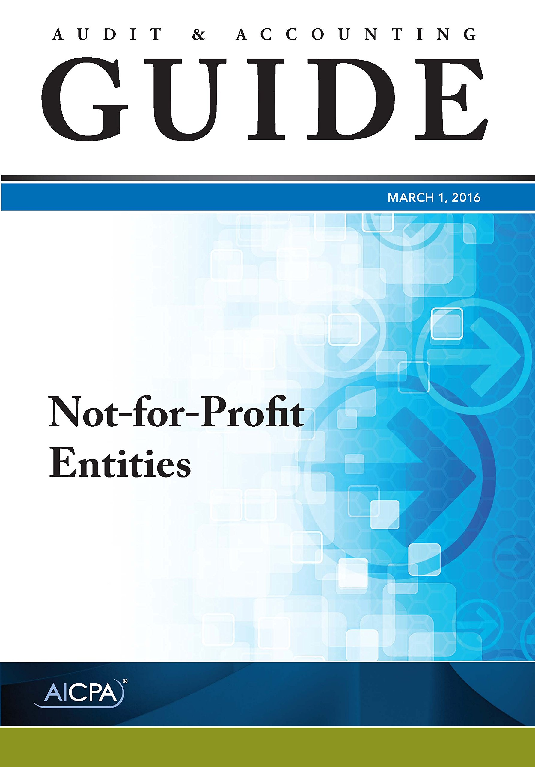 Read Online Not-for-Profit Entities - Audit and Accounting Guide pdf