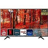 Hisense Televisión 2020 4K SmartTV Led con Sistema Roku | Compatible con Google Assistant y Alexa | Motion Rate 120 | HDR10 |