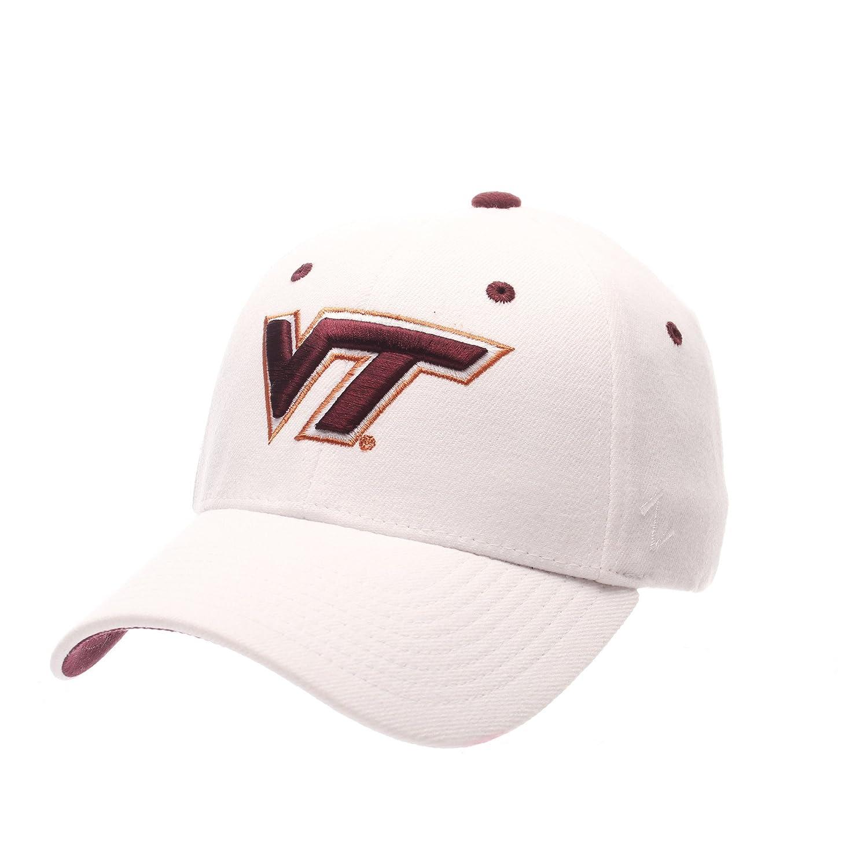 ZephyrメンズVirginia Tech Hokies ZH Zwoolストレッチフィット帽子 Large  B01NAEYEL8