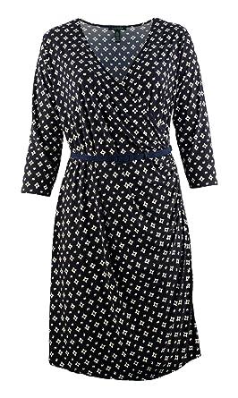 Lauren Ralph Lauren Women\'s Plus Size Belted 3/4 Sleeve ...