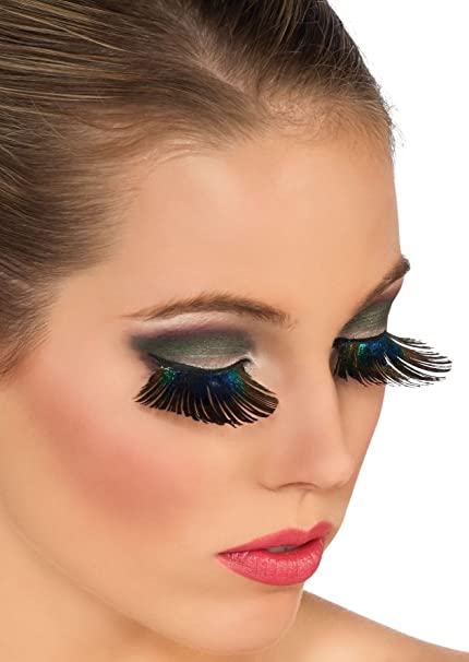 9a011f11826 Amazon.com: Rubies Peacock Feather Eyelashes: Toys & Games