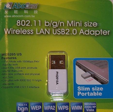 ABOCOM USB WIRELESS WINDOWS 10 DRIVERS DOWNLOAD