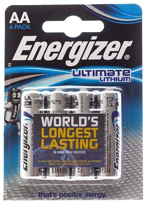 voltaggio batteria aa