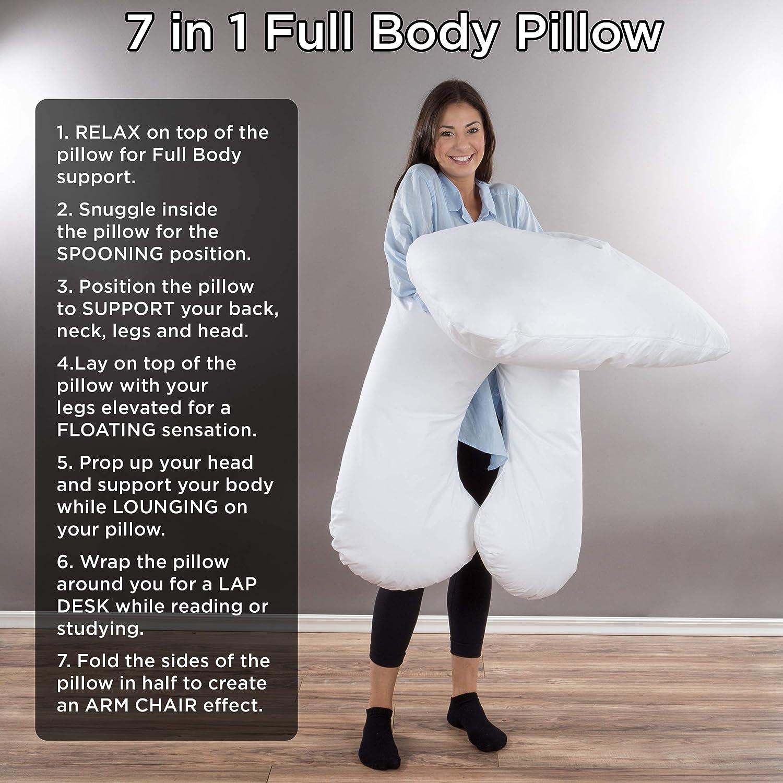 Lavish Home Full Body Pillow 7 in 1
