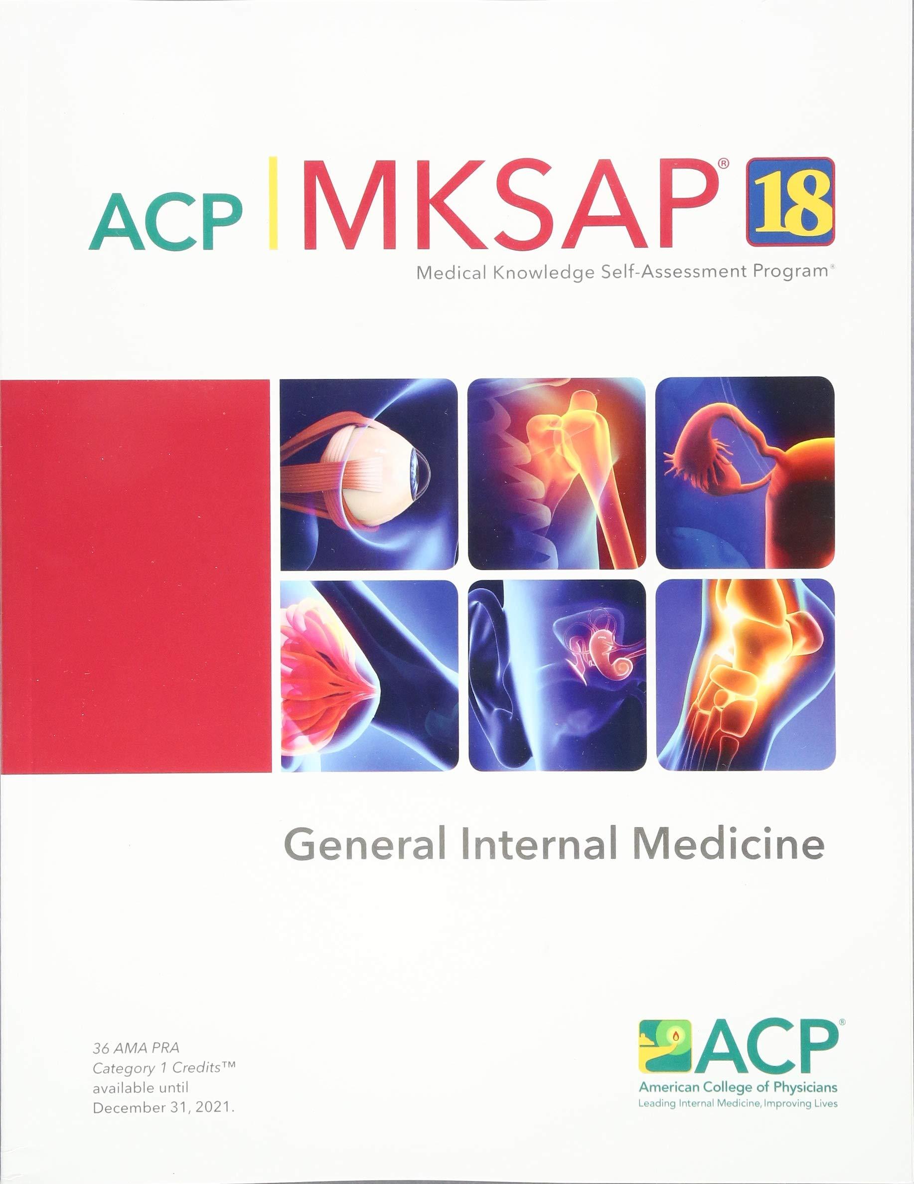 MKSAP (R) 18 General Internal Medicine: 9781938245558