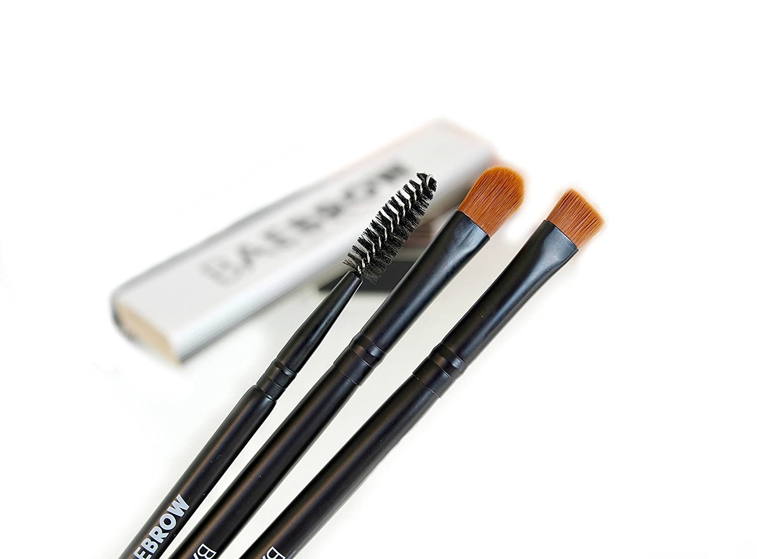 3 PIECE BAEBROW Professional Eyebrow Brush Set
