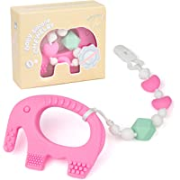 Teething Toys for Babies 6-12 Months - Bpa Free Silicone Teether for Baby Girl - Easy to Hold, Soft and Highly Effective…