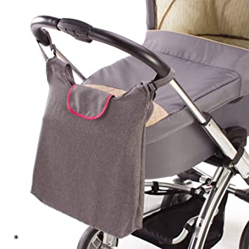 Tasche für Kinderwagen Organizer mit viel Stauraum für Baby Zubehör Buggy