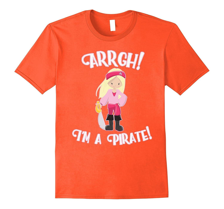 fd1bd2f5 Funny Arrgh I'm a Pirate T-Shirt Girl Gift Tees Sword Kids-ANZ ...