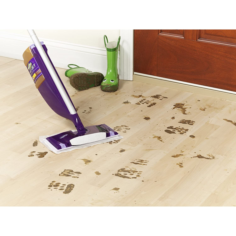 Swiffer wetjet wood floor cleaner - Amazon Com Swiffer Wetjet Multi Purpose Floor And Hardwood Cleaner Solution Refill Wet Jet Refills In Open Window Fresh Scent 1 25 Liter 2 Pack Health
