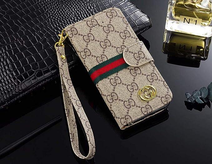 8d5febbffe6334 Phone Case for Galaxy S9 Plus, Vintage Luxury Designer Monogram Fashion  Style Flip Wallet Case