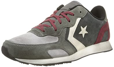 Converse Auckland Racer Ox Suede, Sneakers Basses Homme - Gris - Grau (Grey Dust/Charcoal),