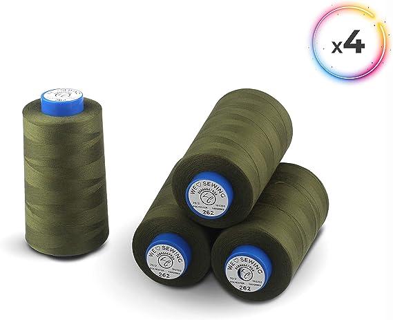 La Canilla ® - Conos de Hilo para Overlock y Máquinas de Coser Kit ...